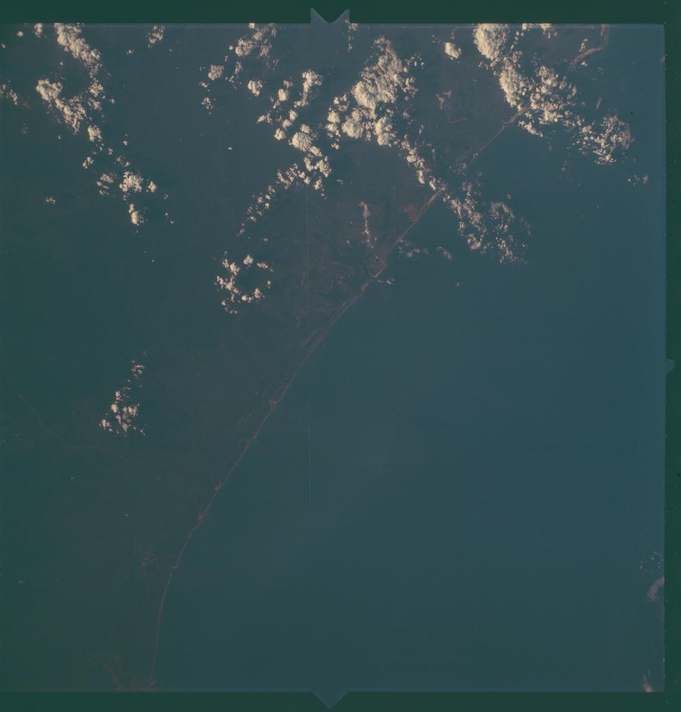 AS06-02-1051 - Apollo 6 - Apollo 6 Mission Image - Mozambique