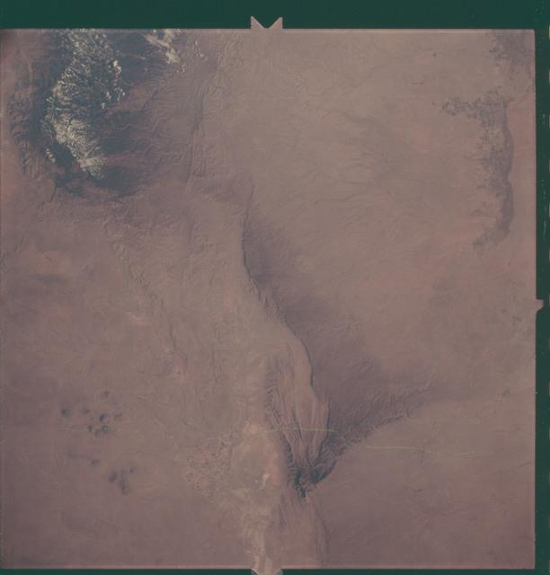 AS06-02-1450 - Apollo 6 - Apollo 6 Mission Image - New Mexico and Texas