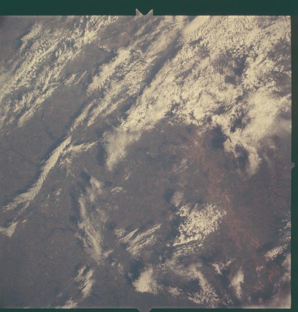 AS06-02-1467 - Apollo 6 - Apollo 6 Mission Image - Texas, Louisiana and Arkansas