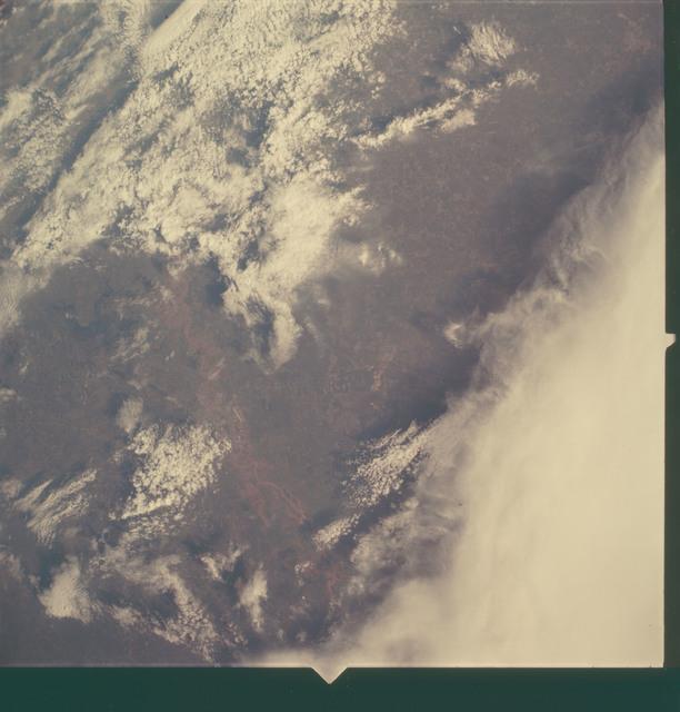 AS06-02-1468 - Apollo 6 - Apollo 6 Mission Image - Texas, Louisiana and Arkansas
