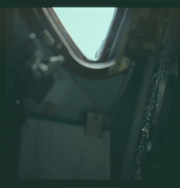 AS07-03-1515 - Apollo 7 - Apollo 7 Mission image, Command Module window