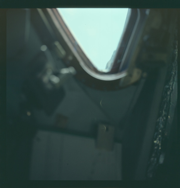 AS07-03-1516 - Apollo 7 - Apollo 7 Mission image, Command Module window