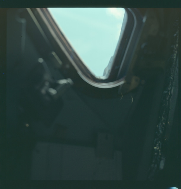 AS07-03-1517 - Apollo 7 - Apollo 7 Mission image, Command Module window
