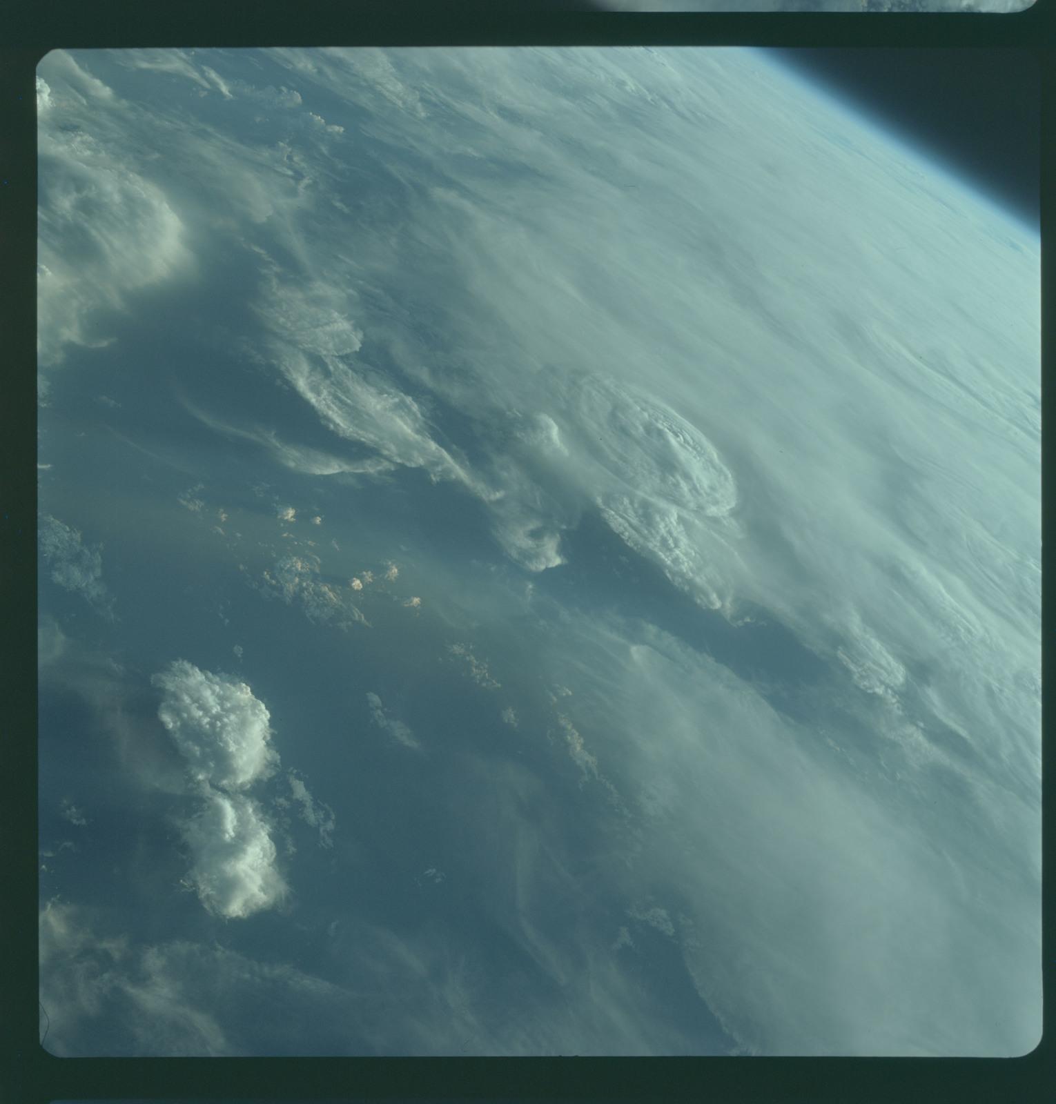 as07 03 1554 apollo 7 apollo 7 mission cirrus cumulus nimbus