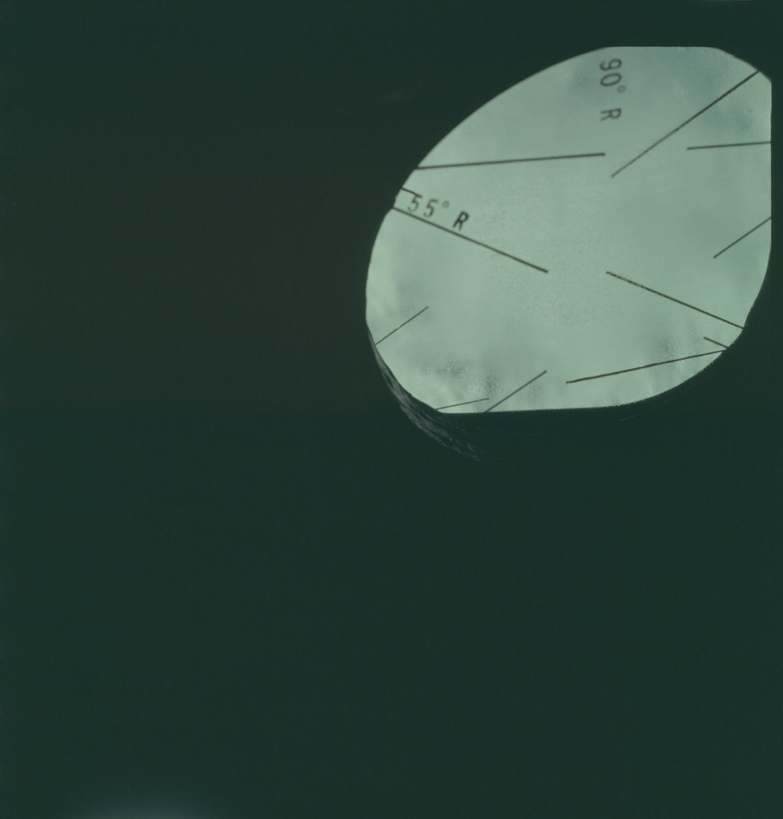 AS07-04-1580 - Apollo 7 - Apollo 7 Mission, Command Module window