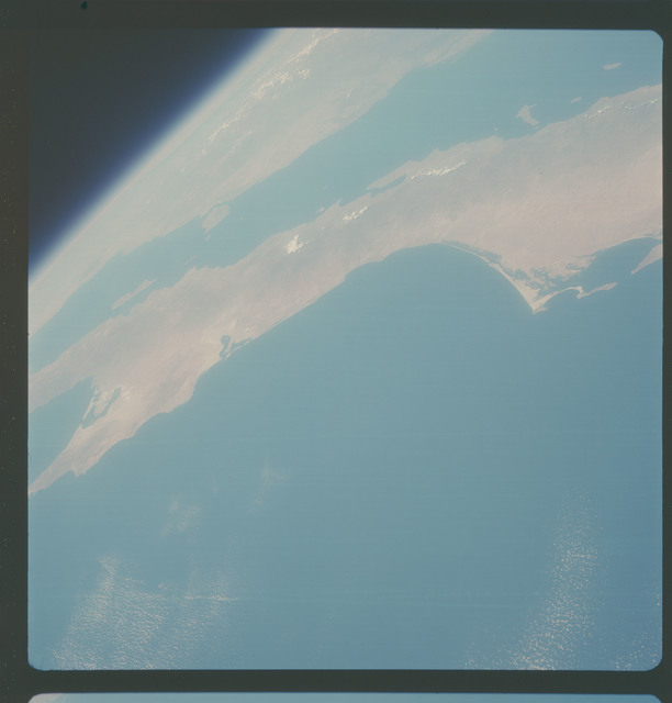 AS07-05-1645 - Apollo 7 - Apollo 7 Mission, Baja California