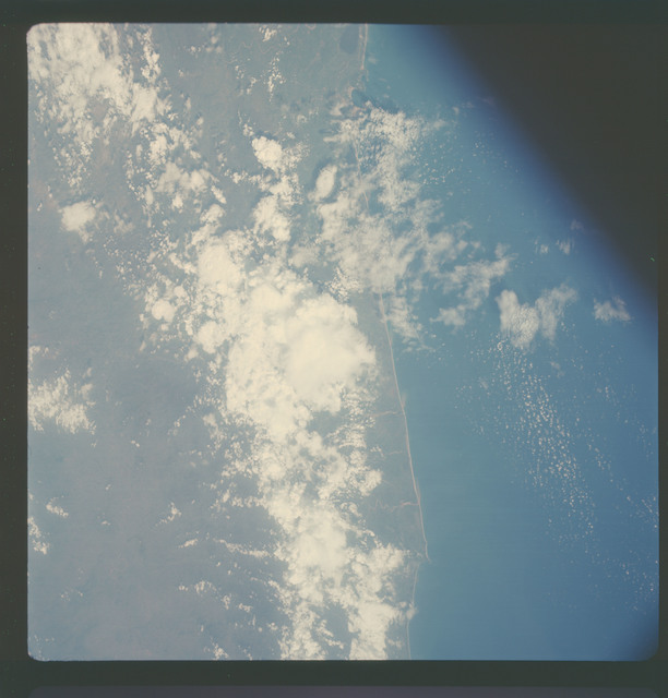 AS07-05-1651 - Apollo 7 - Apollo 7 Mission, Mexico, west coast, Acapulco