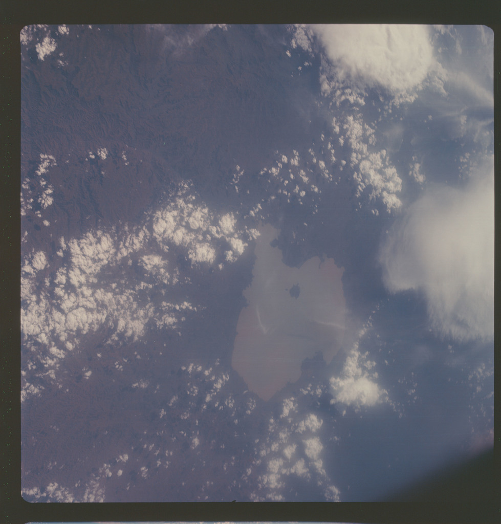 AS07-06-1719 - Apollo 7 - Apollo 7 Mission, Africa, Ethiopia, Lake Tana