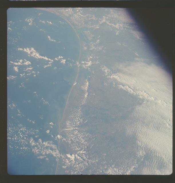 AS07-06-1720 - Apollo 7 - Apollo 7 Mission, Texas Gulf Coast, Galveston to Corpus Christi