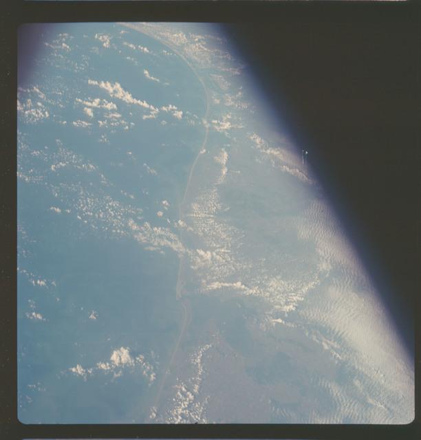 AS07-06-1721 - Apollo 7 - Apollo 7 Mission, Texas Gulf Coast, Beaumont to Corpus Christi