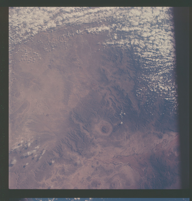 AS07-07-1799 - Apollo 7 - Apollo 7 Mission, Mexico - United States Border area
