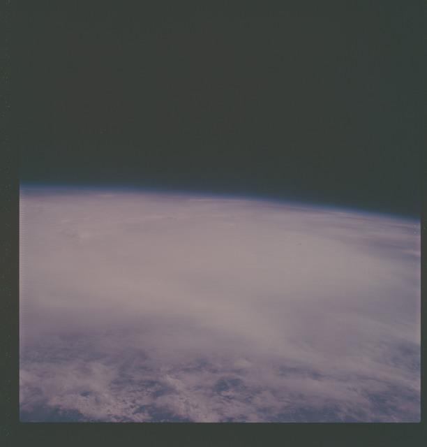 AS07-07-1801 - Apollo 7 - Apollo 7 Mission, Hurricane Gladys, Gulf of Mexico