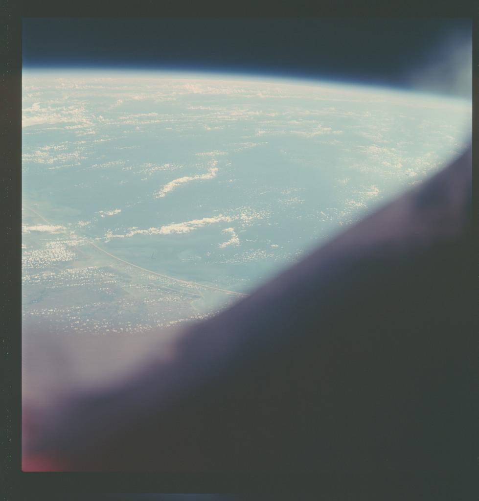 AS07-07-1820 - Apollo 7 - Apollo 7 Mission, Texas