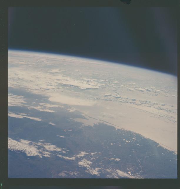 AS07-07-1870 - Apollo 7 - Apollo 7 Mission, Texas