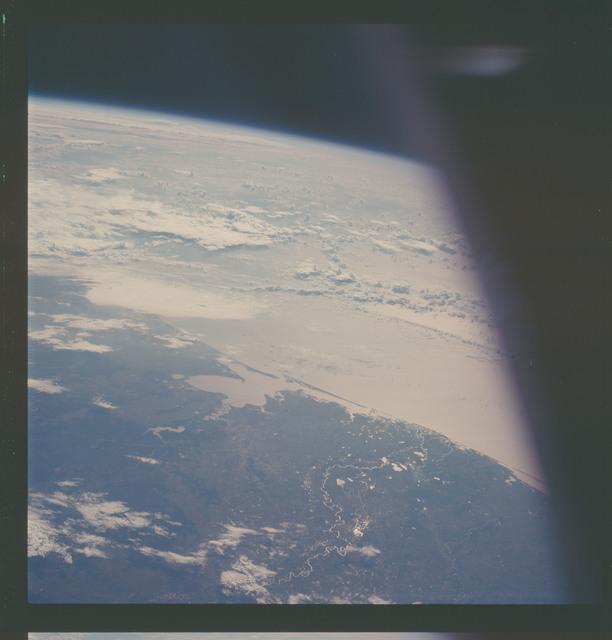 AS07-07-1871 - Apollo 7 - Apollo 7 Mission, Texas