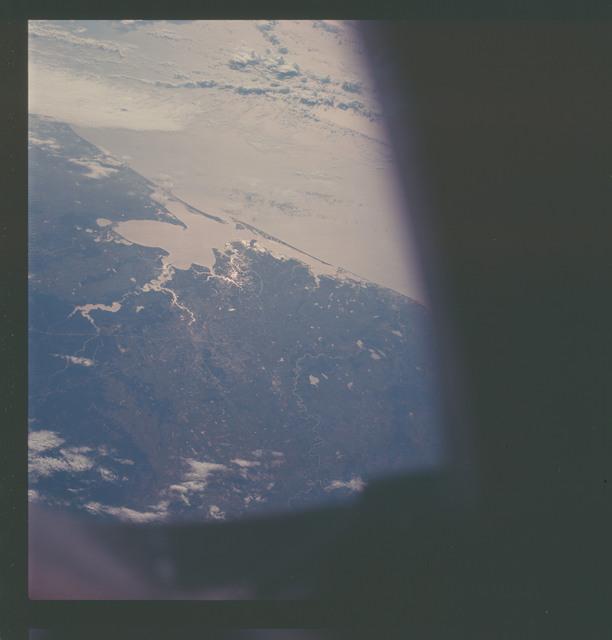 AS07-07-1873 - Apollo 7 - Apollo 7 Mission, Texas