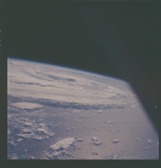 AS07-07-1875 - Apollo 7 - Apollo 7 Mission, Hurricane Gladys in the Gulf of Mexico