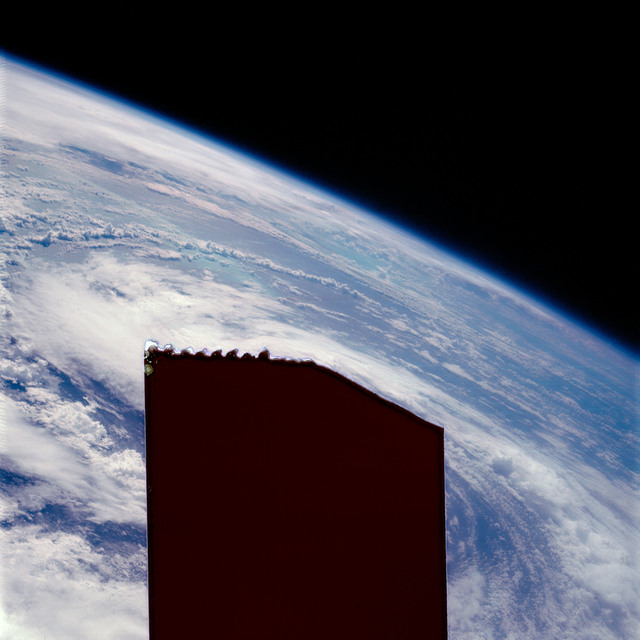 AS07-07-1878 - Apollo 7 - Apollo 7 Mission, Hurricane Gladys in the Gulf of Mexico