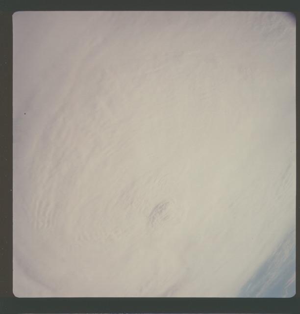 AS07-08-1891 - Apollo 7 - Apollo 7 Mission, Hurricane Gladys in the Gulf of Mexico