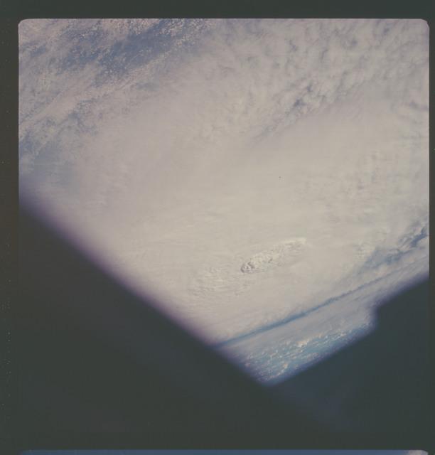 AS07-08-1892 - Apollo 7 - Apollo 7 Mission, Hurricane Gladys in the Gulf of Mexico