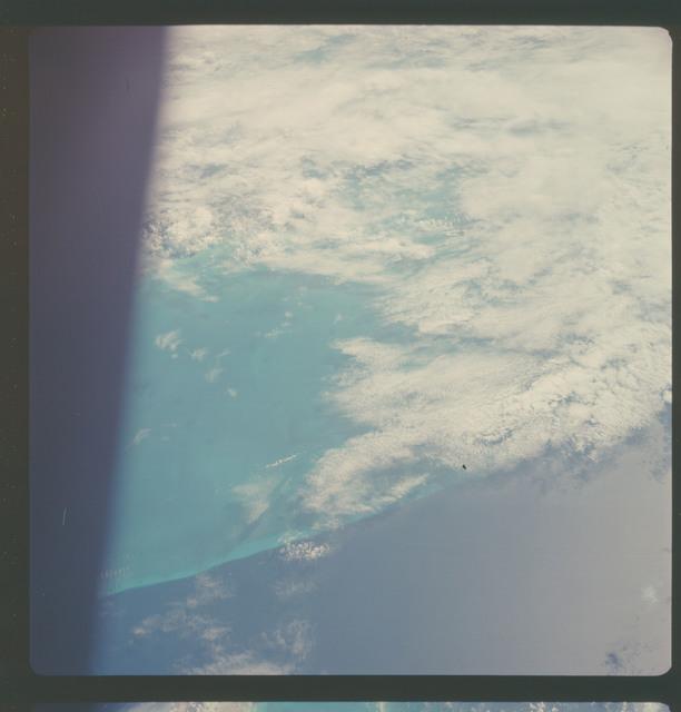 AS07-08-1895 - Apollo 7 - Apollo 7 Mission, Bahamas