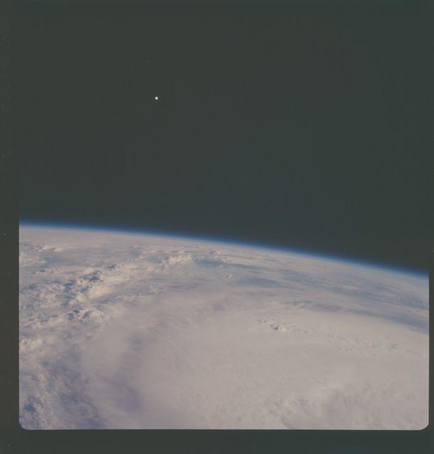 AS07-08-1919 - Apollo 7 - Apollo 7 Mission, Hurricane Gladys in the Gulf of Mexico