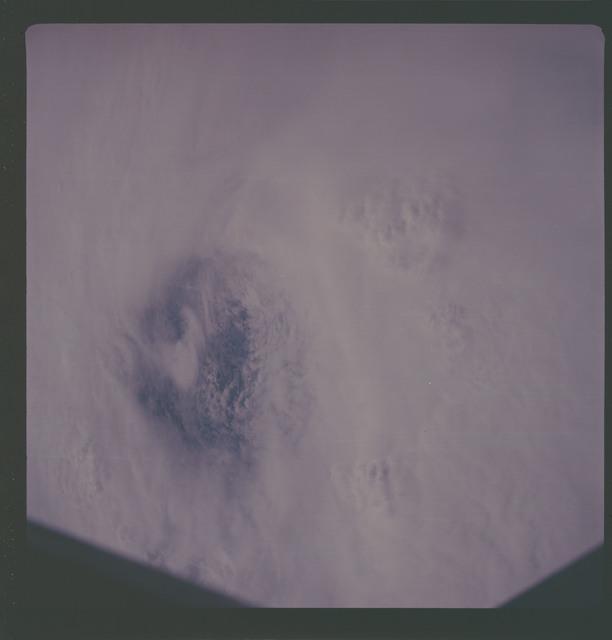 AS07-08-1930 - Apollo 7 - Apollo 7 Mission, Hurricane Gloria
