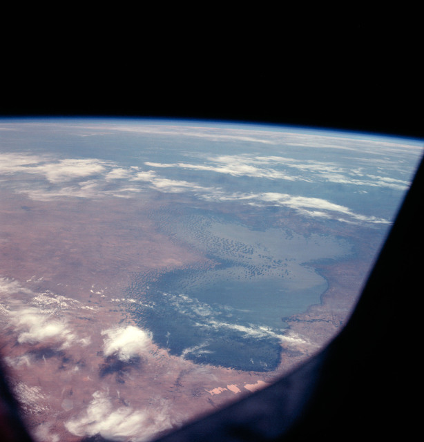 AS07-08-1932 - Apollo 7 - Apollo 7 Mission, Africa