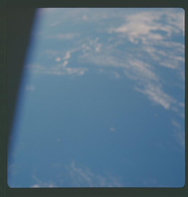 AS07-11-1995 - Apollo 7 - Apollo 7 Mission, Out of focus Ocean