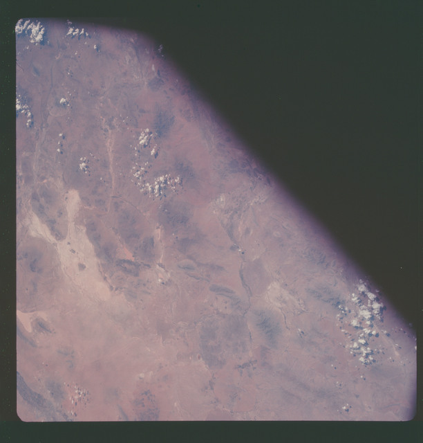 AS07-11-2028 - Apollo 7 - Apollo 7 Mission, Mexico and New Mexico