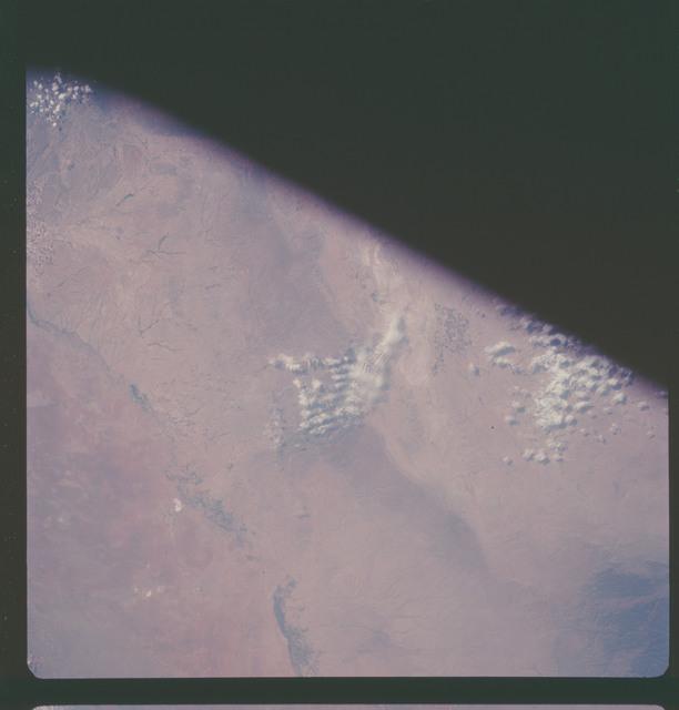 AS07-11-2030 - Apollo 7 - Apollo 7 Mission, New Mexico and Texas