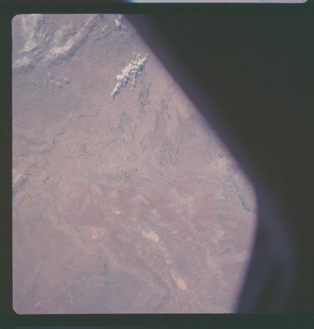 AS07-11-2032 - Apollo 7 - Apollo 7 Mission, New Mexico, Texas