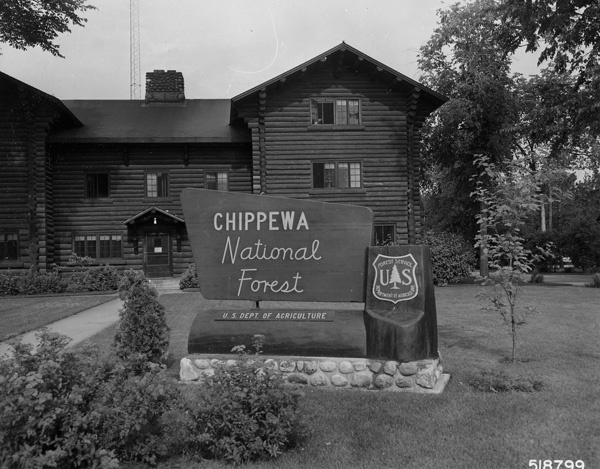 Photograph of Supervisor's Office and Headquarters Sign