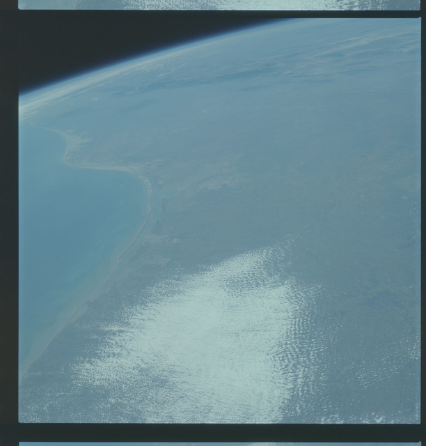 AS09-19-2990 - Apollo 9 - Apollo 9 Mission image - Earth Observation - Texas and Mexico