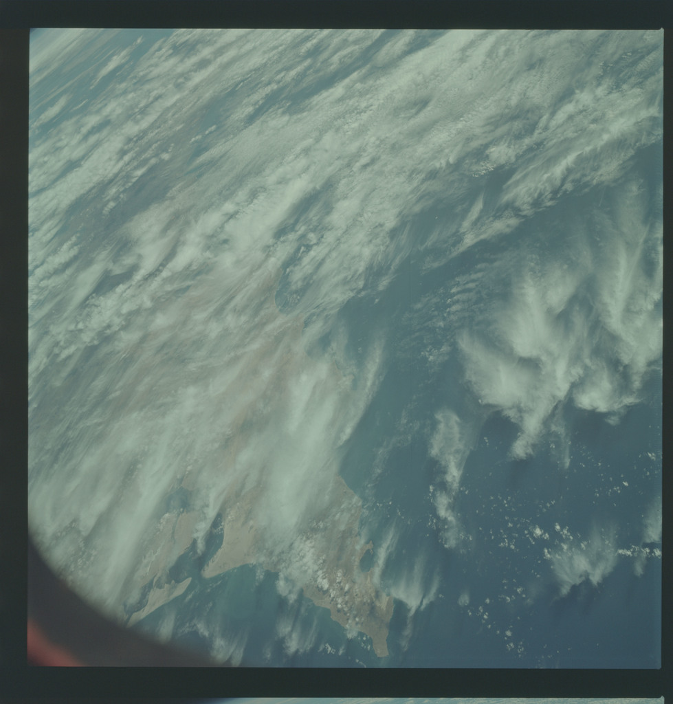 AS09-19-3009 - Apollo 9 - Apollo 9 Mission image - Earth Observation - California and Mexico