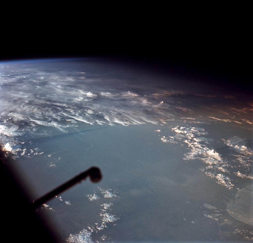AS09-20-3150 - Apollo 9 - Apollo 9 Mission image - Southwest Africa