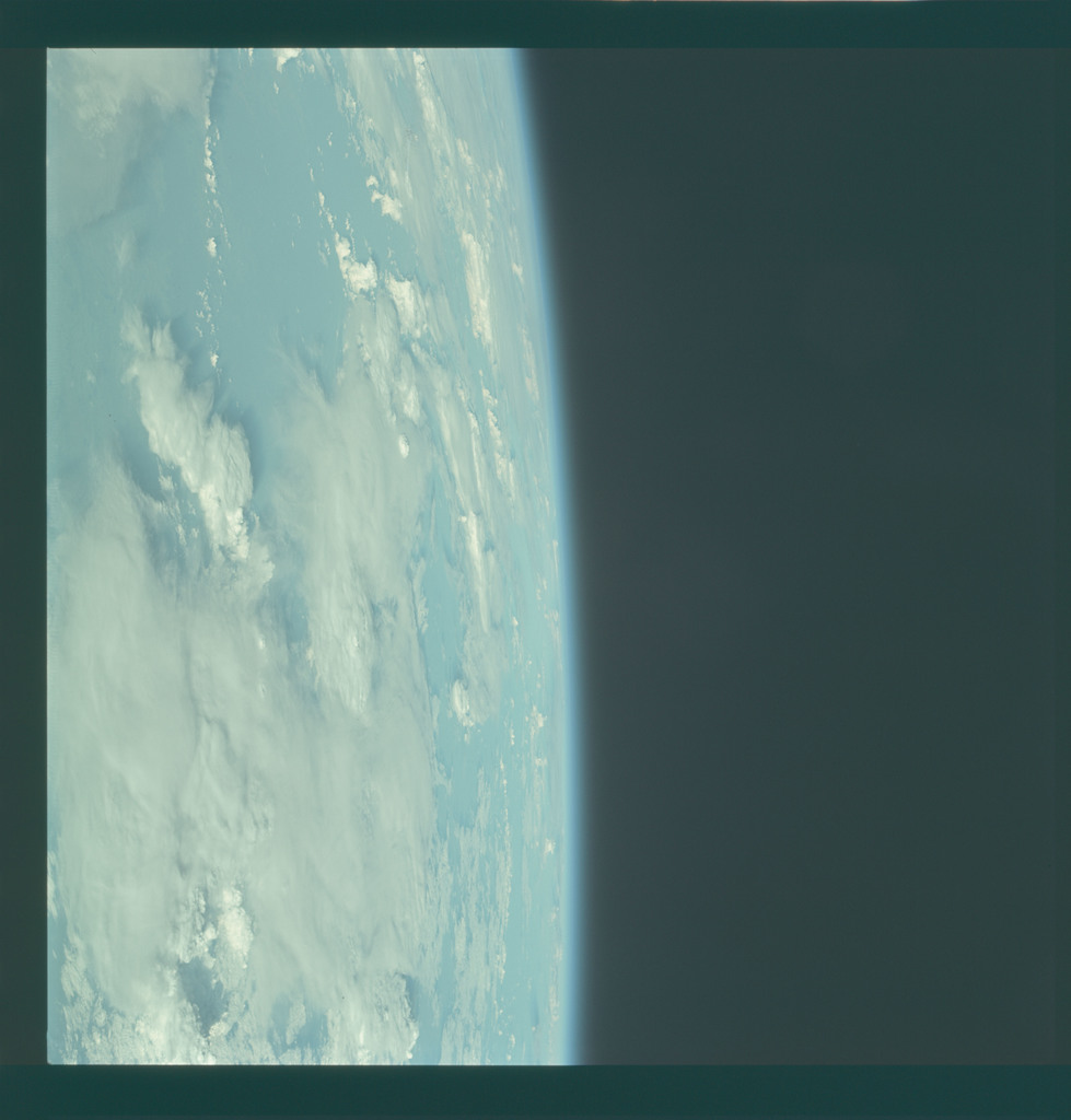 AS09-20-3169 - Apollo 9 - Apollo 9 Mission image - Cloud Formations