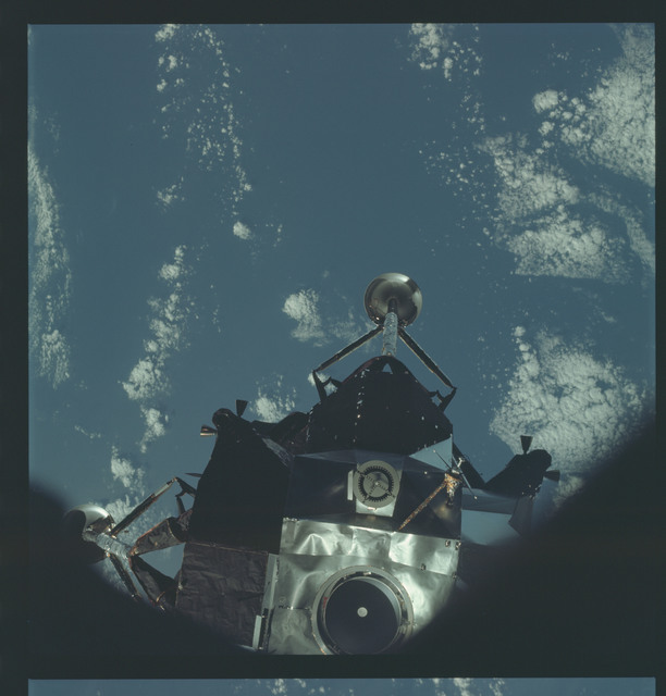 AS09-21-3179 - Apollo 9 - Apollo 9 Mission image - Lunar Module