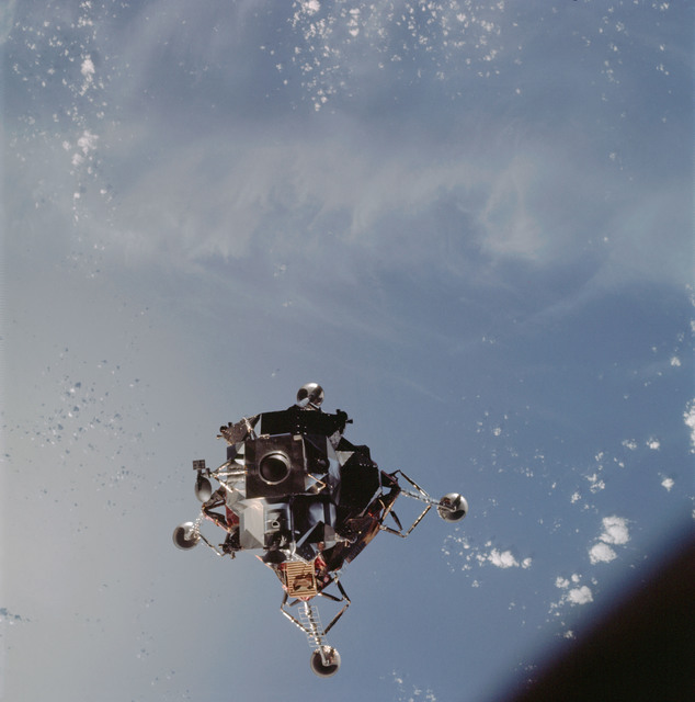 AS09-21-3181 - Apollo 9 - Apollo 9 Mission image - Lunar Module