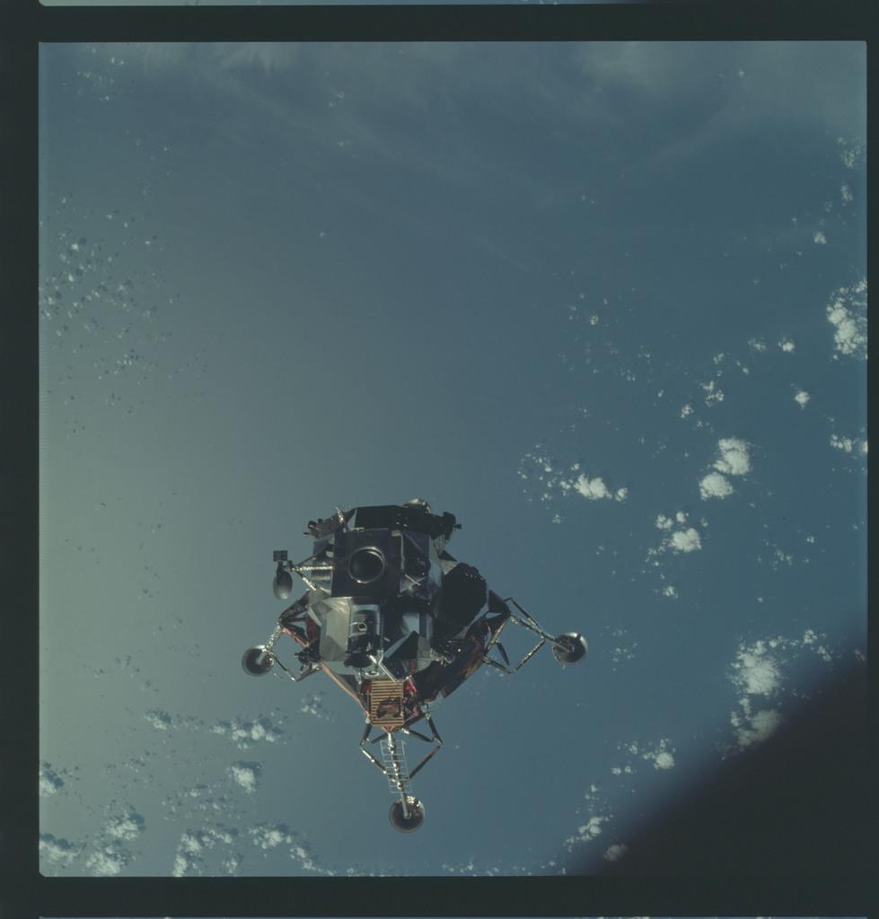 AS09-21-3182 - Apollo 9 - Apollo 9 Mission image - Lunar Module