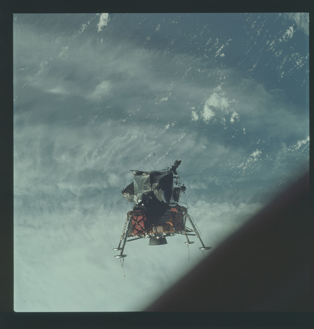AS09-21-3189 - Apollo 9 - Apollo 9 Mission image - Lunar Module