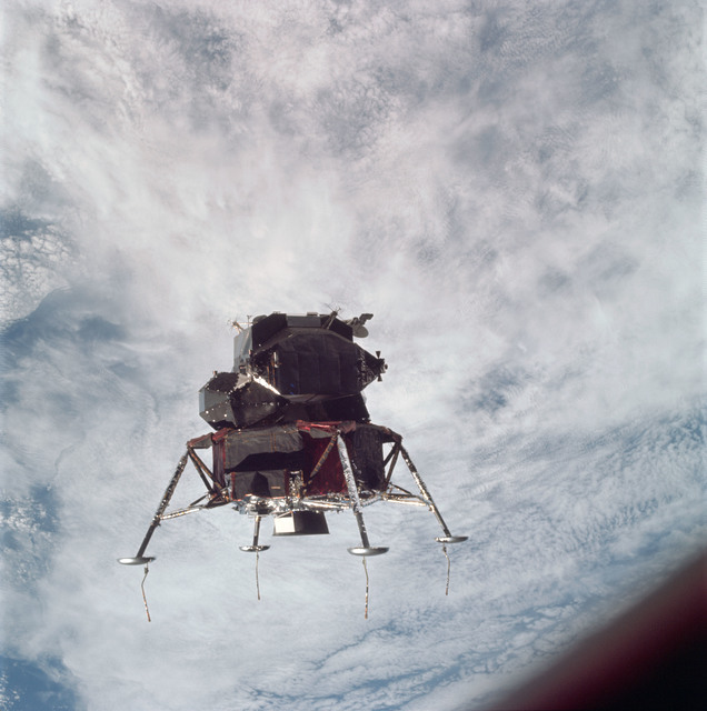 AS09-21-3199 - Apollo 9 - Apollo 9 Mission image - Lunar Module