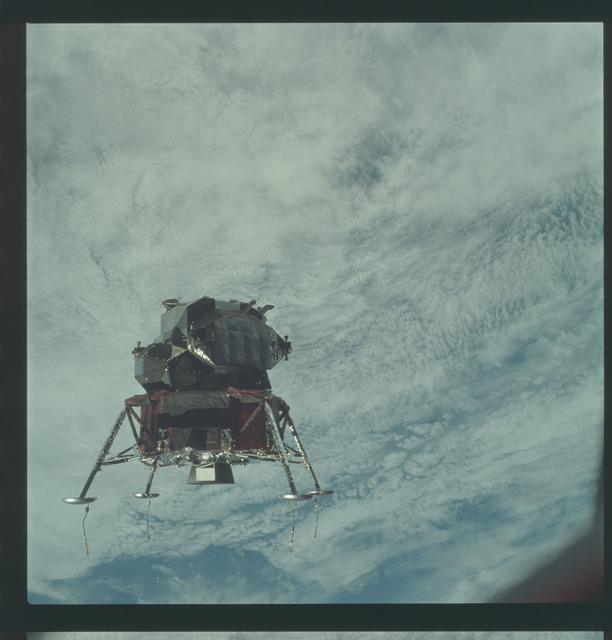 AS09-21-3200 - Apollo 9 - Apollo 9 Mission image - Lunar Module