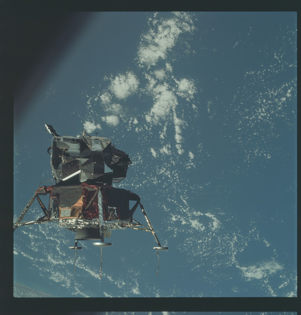 AS09-21-3204 - Apollo 9 - Apollo 9 Mission image - Lunar Module