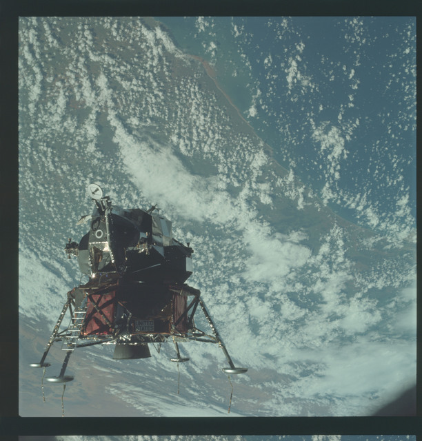 AS09-21-3207 - Apollo 9 - Apollo 9 Mission image - Lunar Module