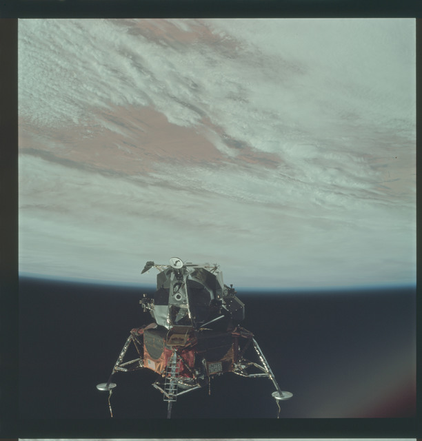 AS09-21-3210 - Apollo 9 - Apollo 9 Mission image - Lunar Module