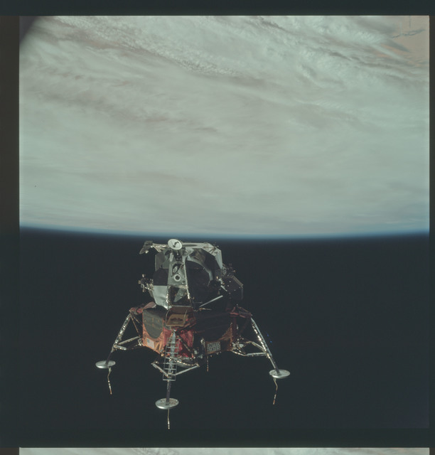 AS09-21-3213 - Apollo 9 - Apollo 9 Mission image - Lunar Module