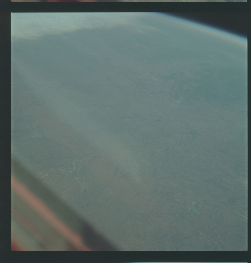 AS09-21-3283 - Apollo 9 - Apollo 9 Mission image - Earth Observations - Oklahoma, Texas and Arkansas