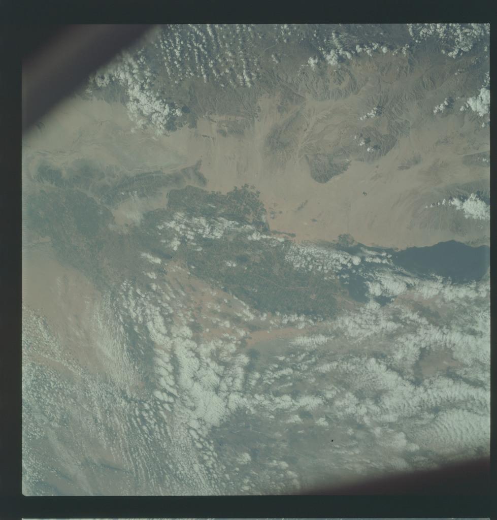AS09-21-3287 - Apollo 9 - Apollo 9 Mission image - Earth Observations - California and Mexico