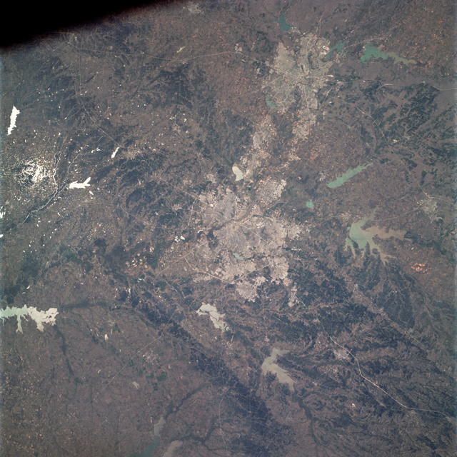 AS09-21-3299 - Apollo 9 - Apollo 9 Mission image - Earth Observations - Texas